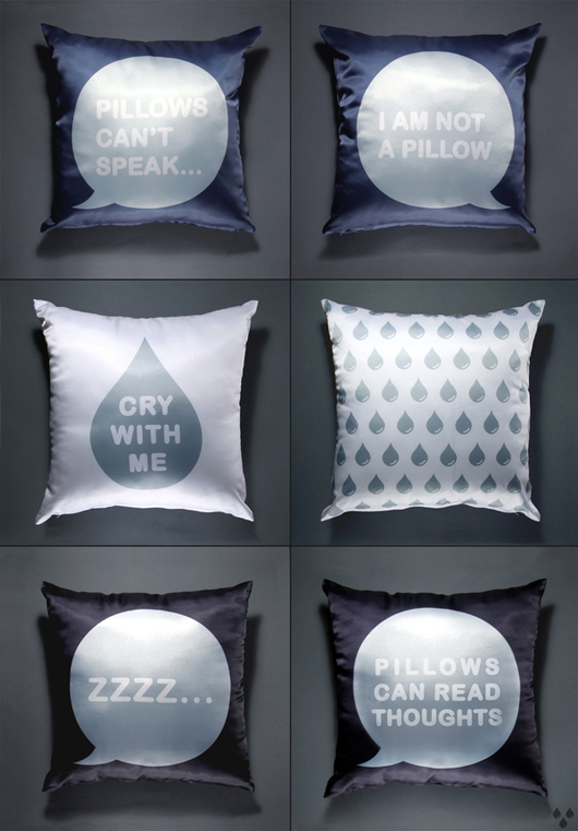 talking pillows
