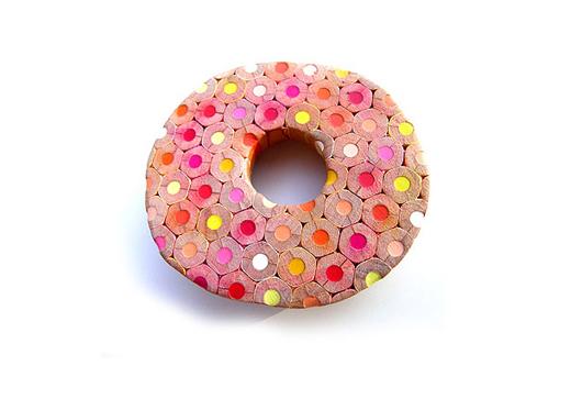 Bijoux en crayons de couleurs Crayon-ring-11