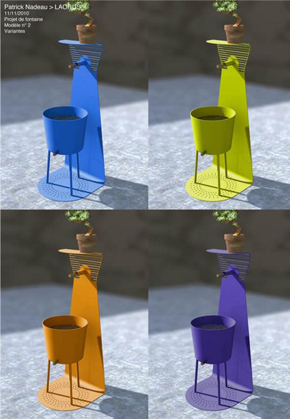design maroc fontaine laorus par patrick nadeau design maroc. Black Bedroom Furniture Sets. Home Design Ideas