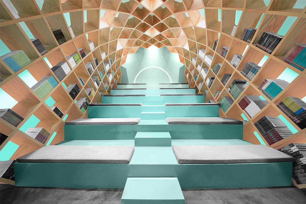 Conarte-Library-bibliothèque-design-Monterrey-Anagrama-mexique-2