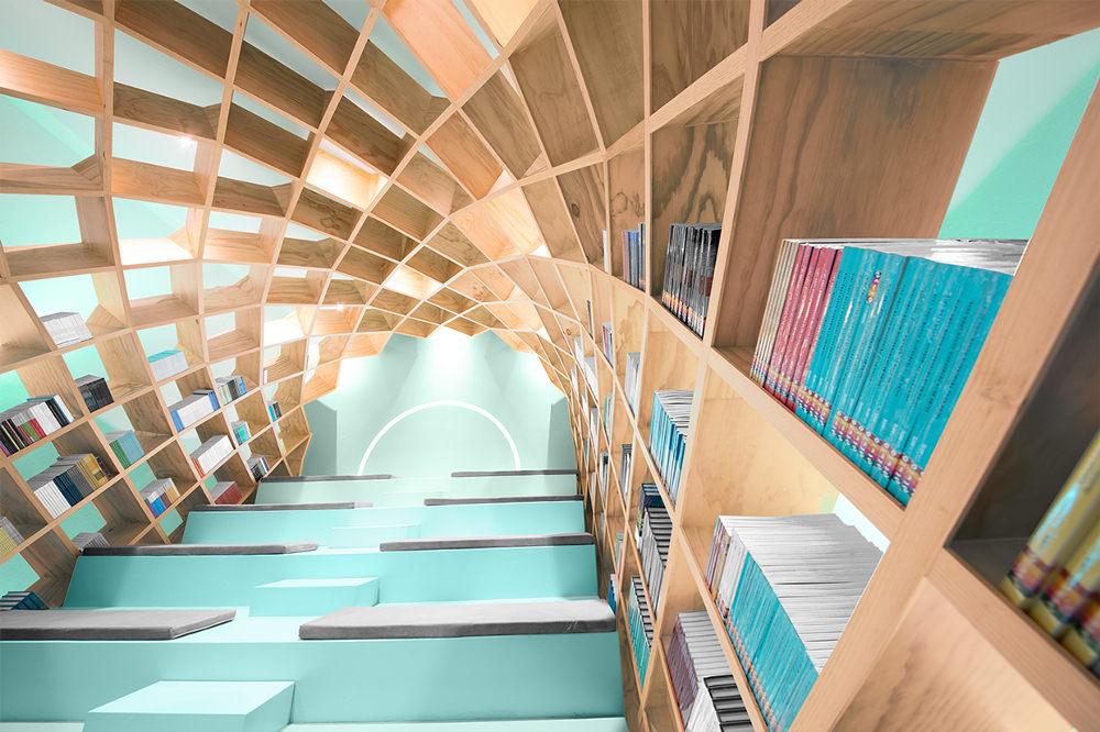 Conarte-Library-bibliothèque-design-Monterrey-Anagrama-mexique-7