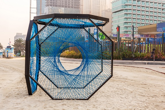 Dubai Design Week_Installations_Aljoud Lootah_Yaroof_JBR THE BEACH_4
