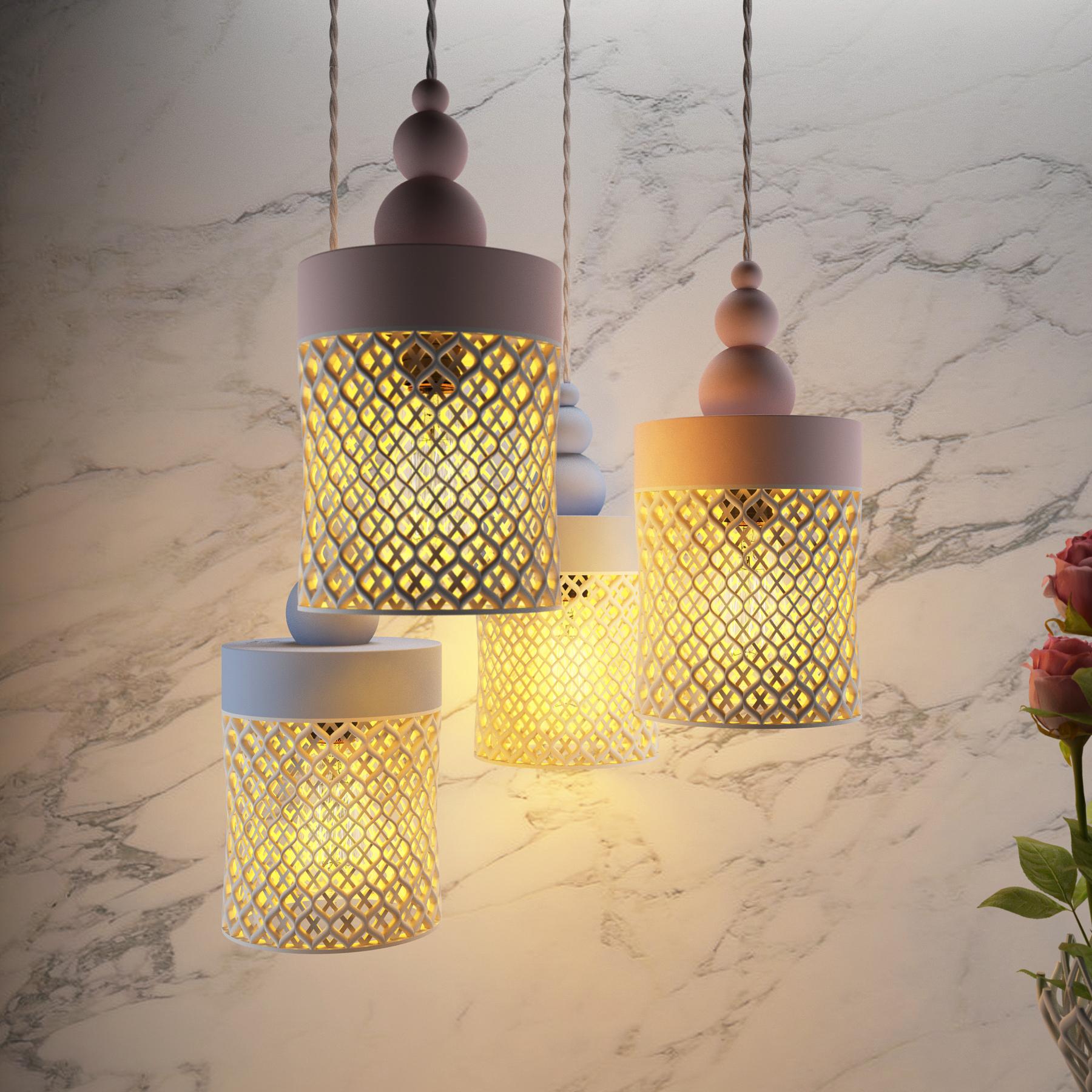 Lumière Jidhr par Younes Duret sur Design Maroc