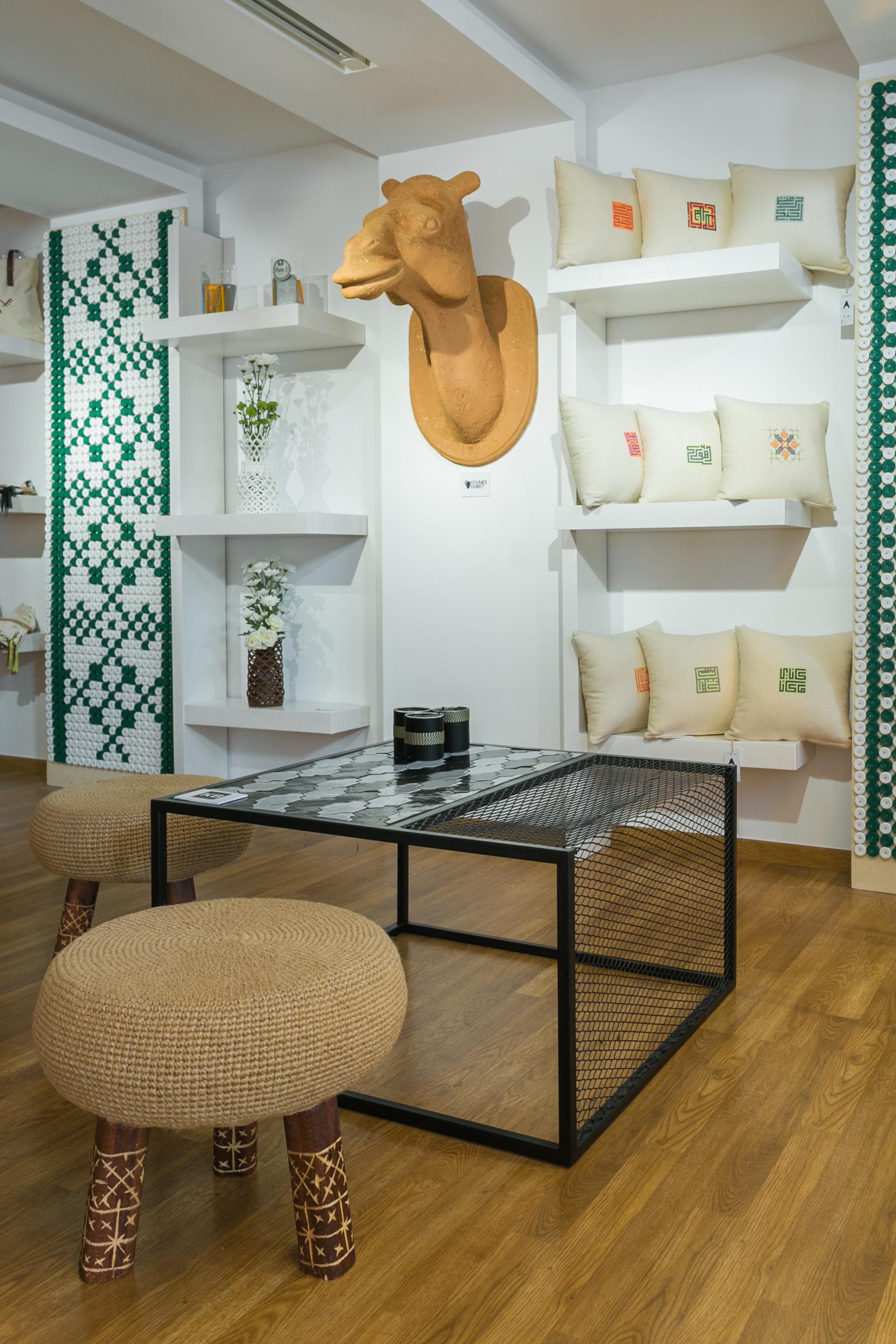 Khalid El Bastrioui à la Galerie H sur Design Maroc