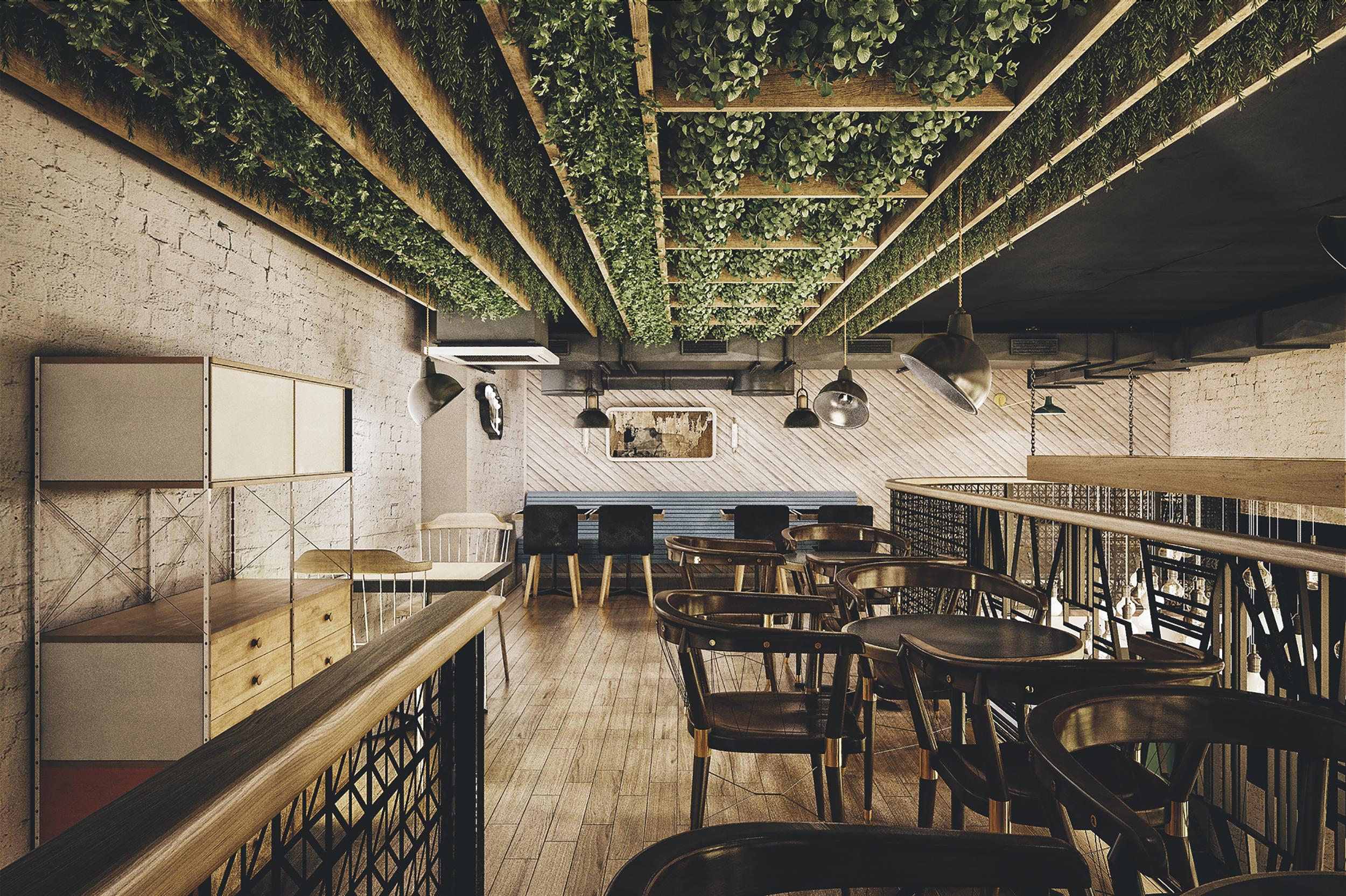 Holy Smoke Restaurant par le Bureau Bumblebee sur Design Maroc