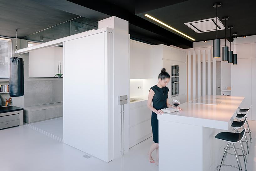 L'appartement Ctrl + Green par Marta Muñoz et Josean Ruiz Esquiroz sur Design Maroc
