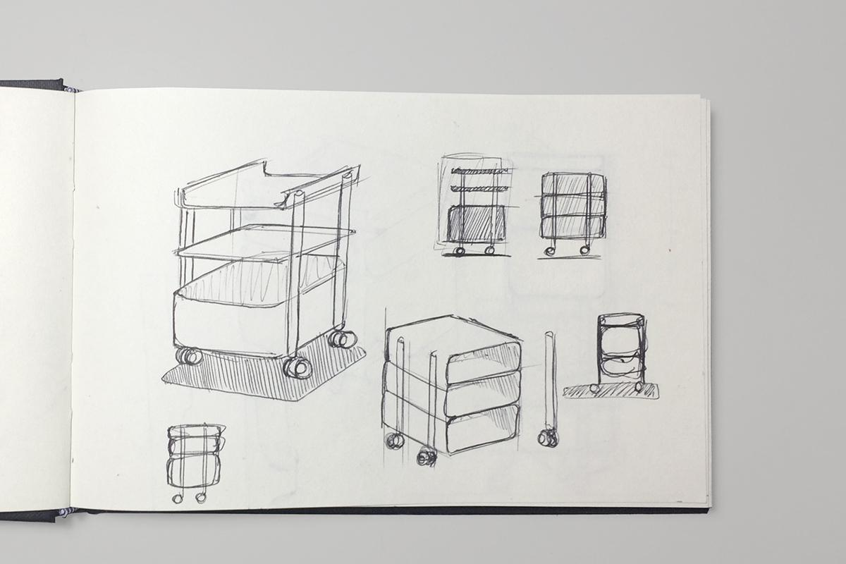La table Morris par le studio Gravina sur Design Maroc