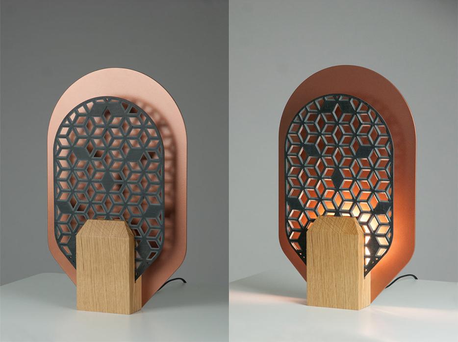 Radieuse, les luminaires de Frédéric Saulou sur Design Maroc