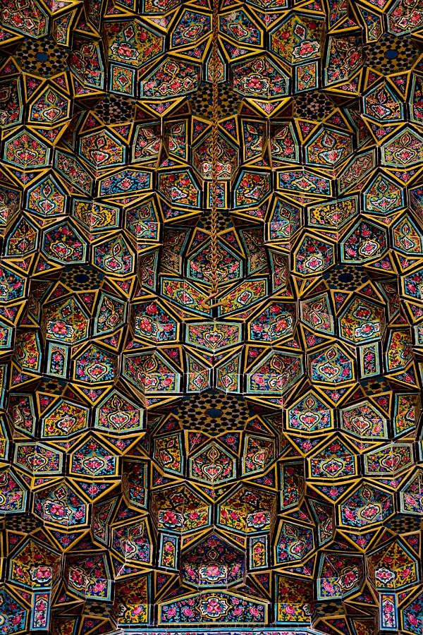 Mosquée Nasir-ol-molk de Shiraz sur Design Maroc