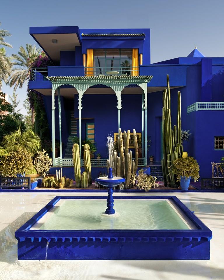 Inspiration du Jardin Majorelle pour Puma sur Design Maroc