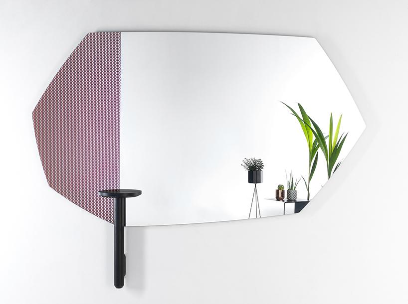 Les faux miroirs d'Alain Gilles pour Deknudt par Design Maroc