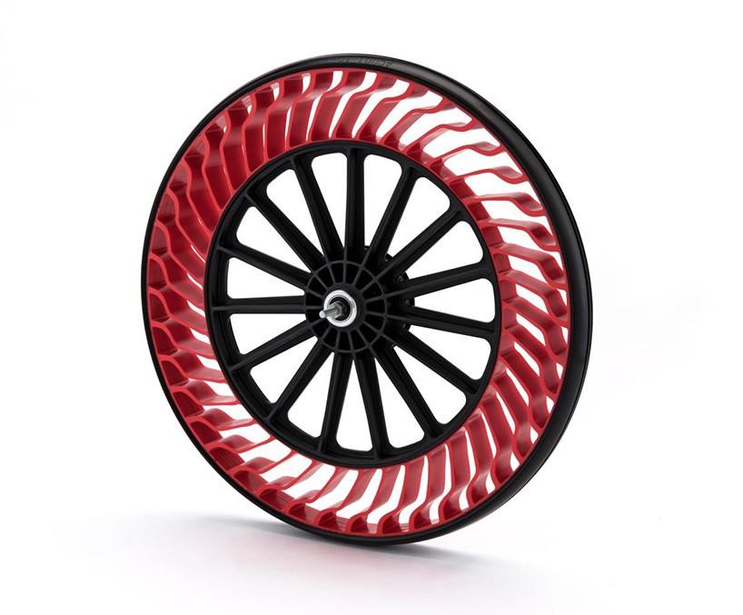 Bridgestone et ses pneus sans air anti-crevaison par Design Maroc