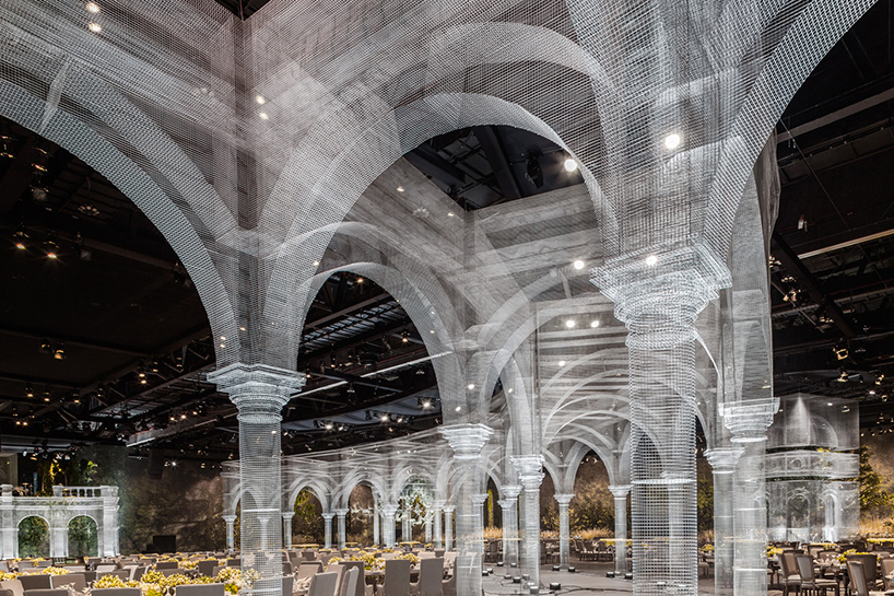 Archetype d'Edoardo Tresoldi à Abu Dhabi sur Design Maroc