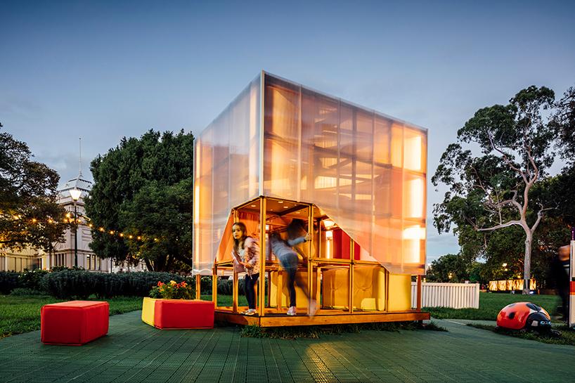 Cubby house, le concept de Grimshaw