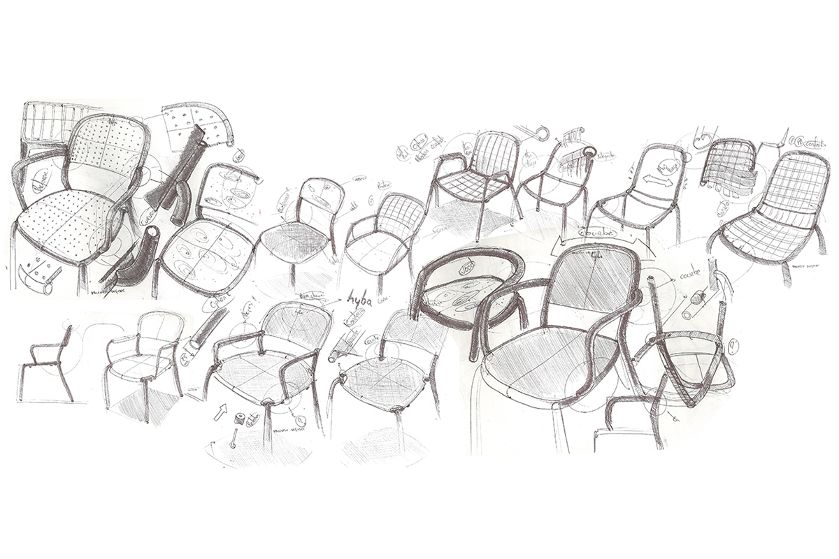 Hyba, le mobilier de jardin de Valentin Dequidt par Design Maroc