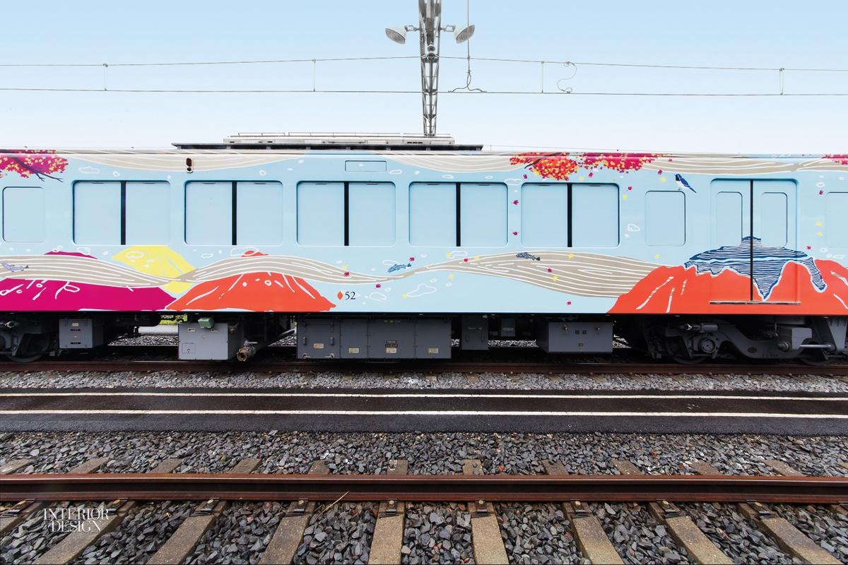 Le train restaurant 52 sets of Happiness par Design Maroc