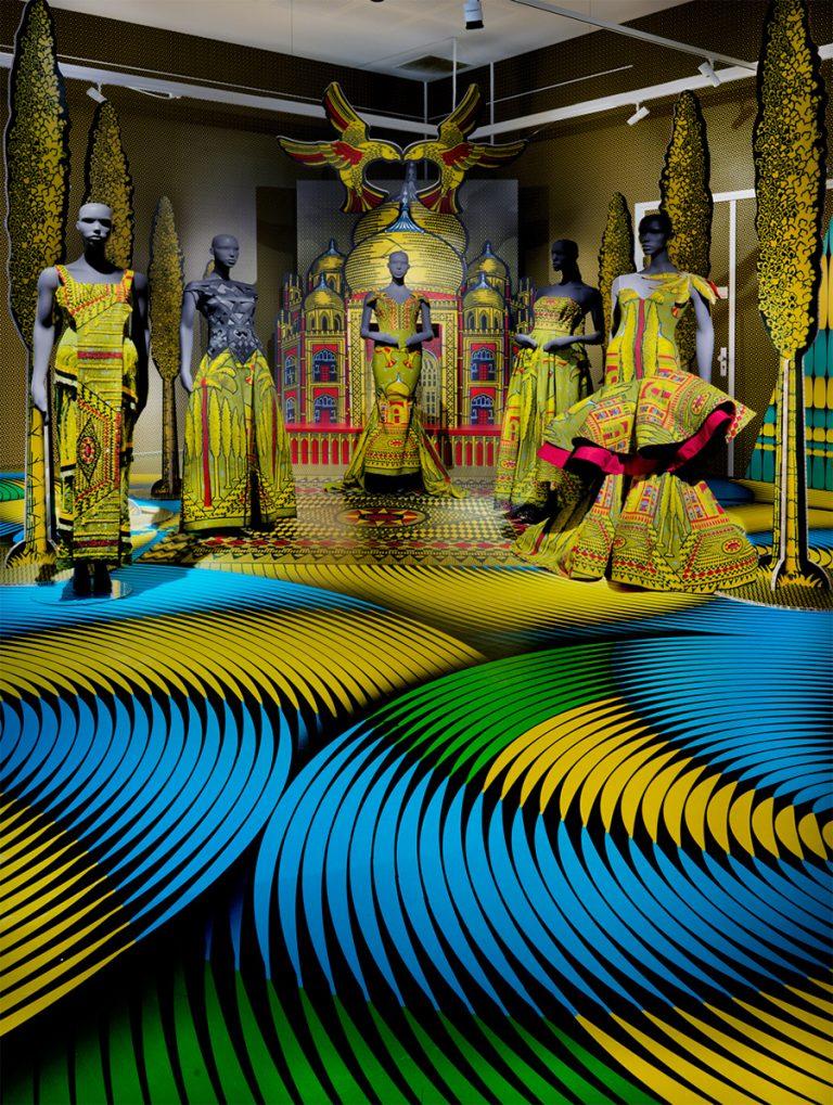 Les tissus aux motifs africains de Vlisco par Design Maroc