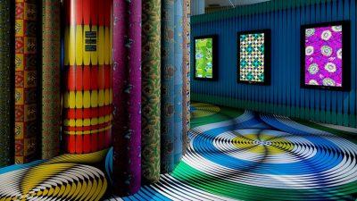 Les tissus aux motifs africains de Vlisco