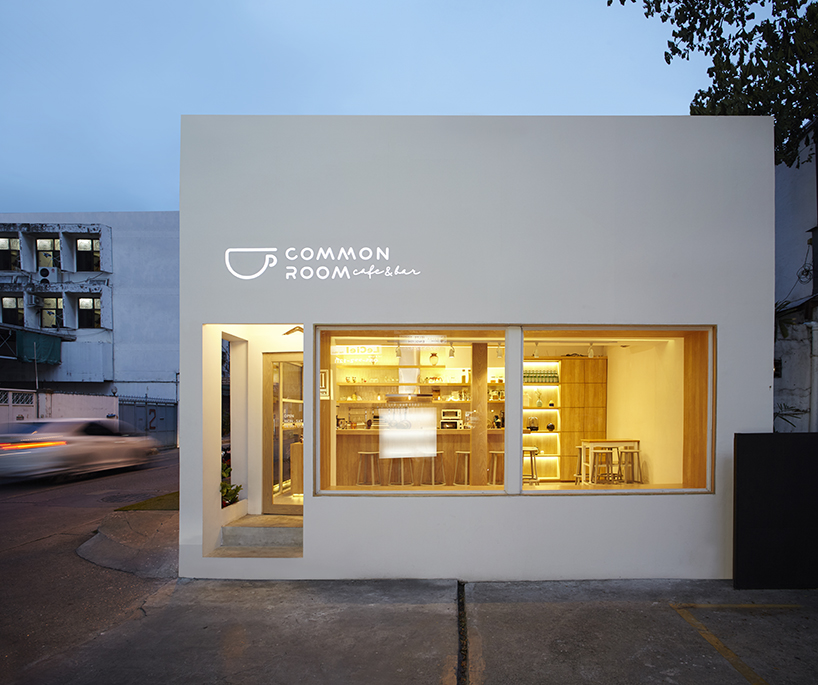 Le Common room cafe à Bangkok par Design Maroc