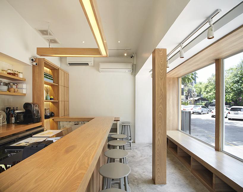 Le Common room cafe à Bangkok par Design Maroc