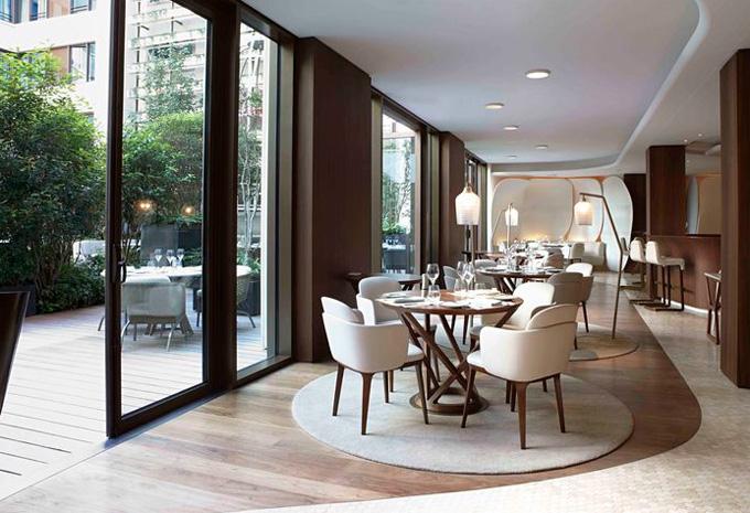 design maroc restaurant camelia mandarin oriental hotel paris design maroc. Black Bedroom Furniture Sets. Home Design Ideas