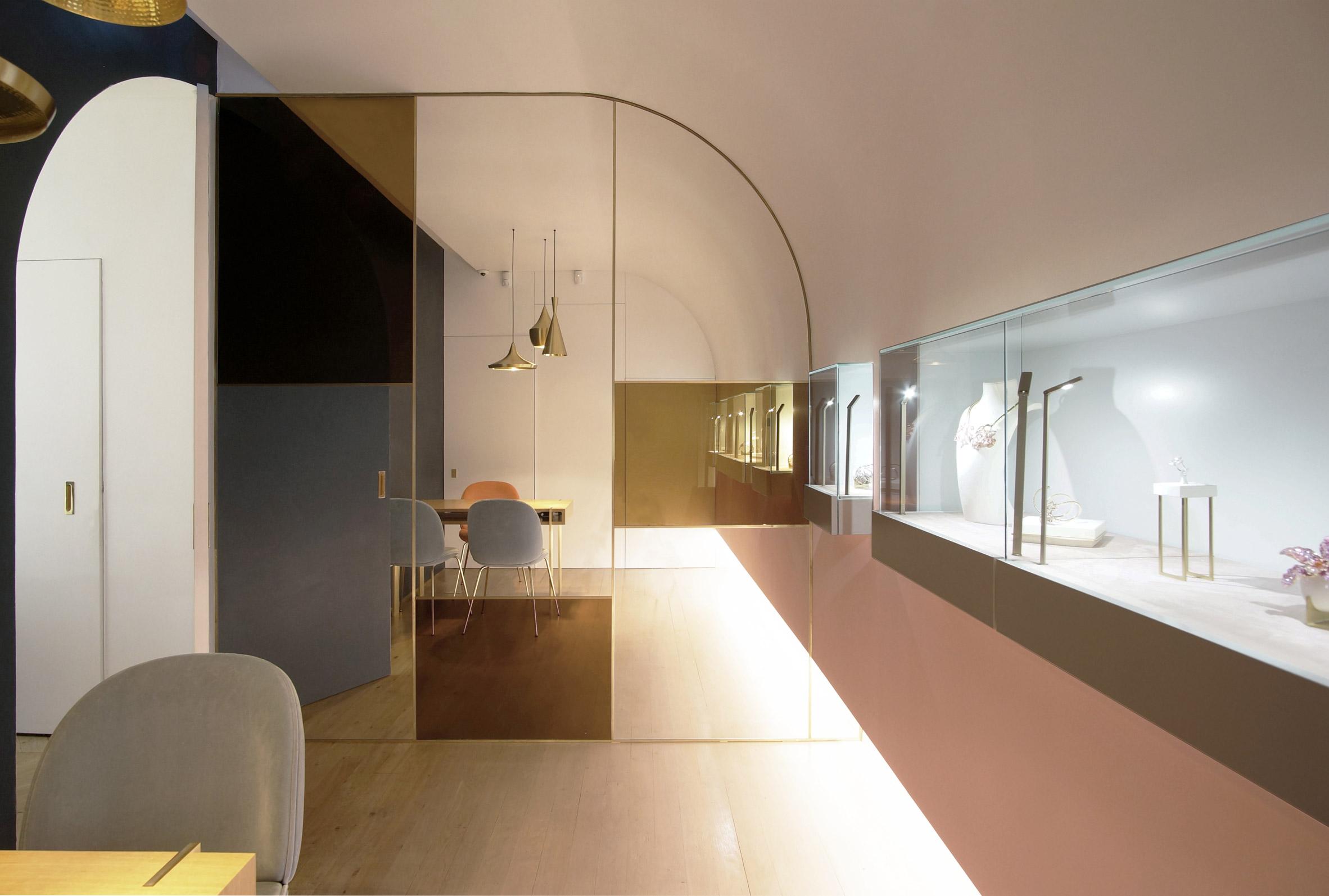 Boutique Nuun par l'Atelier Brunoir et Java Architectes sur Design Maroc
