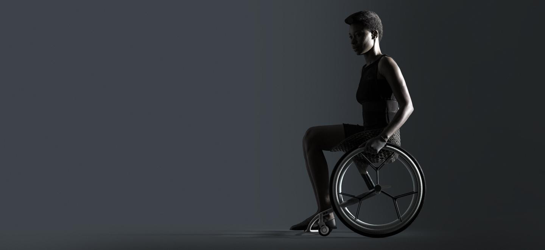 GO, la chaise roulante par Layer, Benjamin Hubert sur Design Maroc