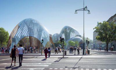 Projet Utopia le parc intérieur st Erik de Stockholm