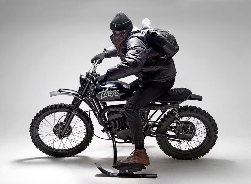 Top 5 des motos custom de Mars 2017 par design Maroc