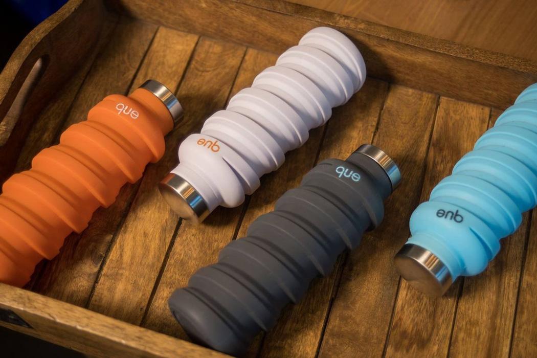 Que bottle, la bouteille qui grandit avec vous par Design Maroc