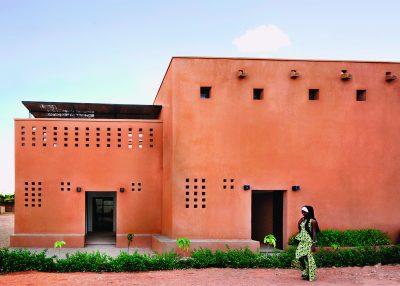 Vue de la façade Est des habitations Niamey 2000